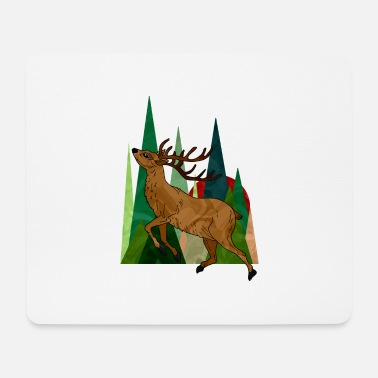 Horns deer - Mouse Pad