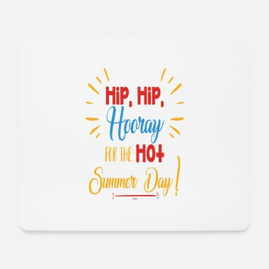 Hip Hip Hip Hooray - Tapis de souris