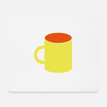 Becher becher - Mousepad