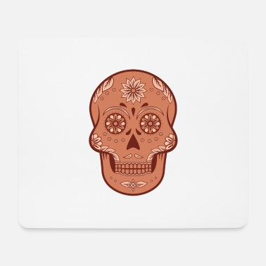 South America Sugar Skull - Mouse Pad