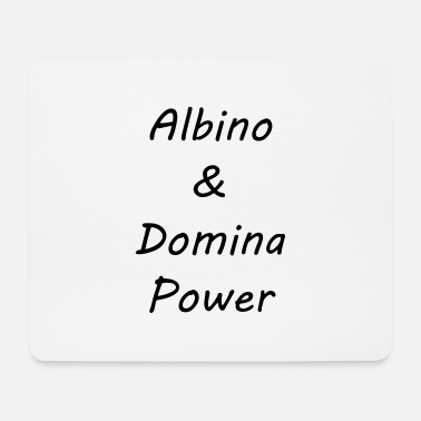 Domina Albino et Domina Power - Tapis de souris