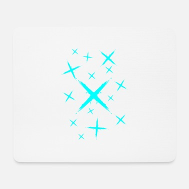 Vector Many Crosses Design Plus Sign New - Mouse Pad