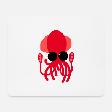 Deep Sea Deep-sea squid - Mouse Pad