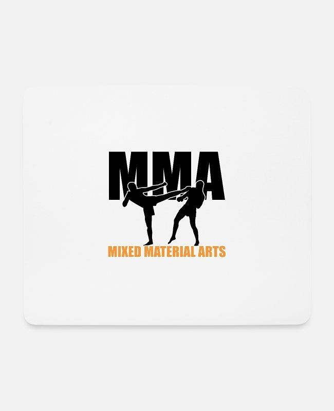 Martial Arts Mouse Pads - MIXED MATERIAL ARTS - Mouse Pad white