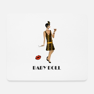 Collections BABY DOLL - RETRO 20s - Mouse Pad (horizontal)