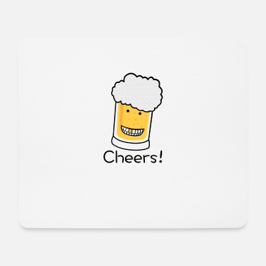 Tchin Tchin Cheers beer - Tapis de souris