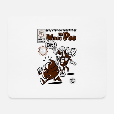 Comic Book Shit comic book - Mouse Pad
