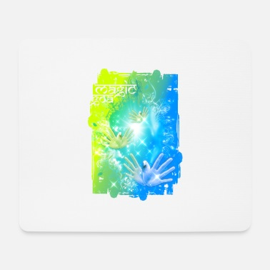 India Goa Trance MAGIC GOA - Mousepad