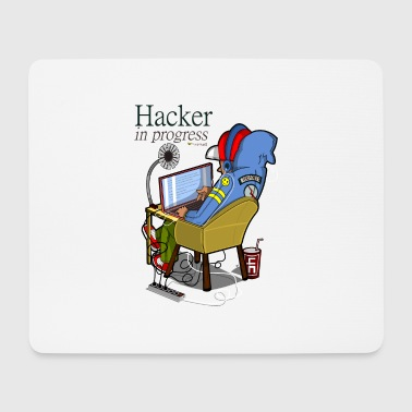 Hacker - Mouse Pad (horizontal)