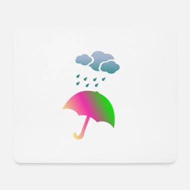 Severe Weather Umbrella weather - Mouse Pad