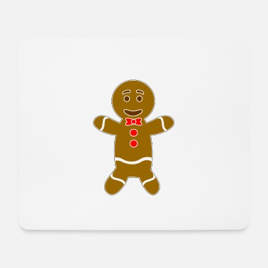 Man Gingerbread man - Mouse Pad