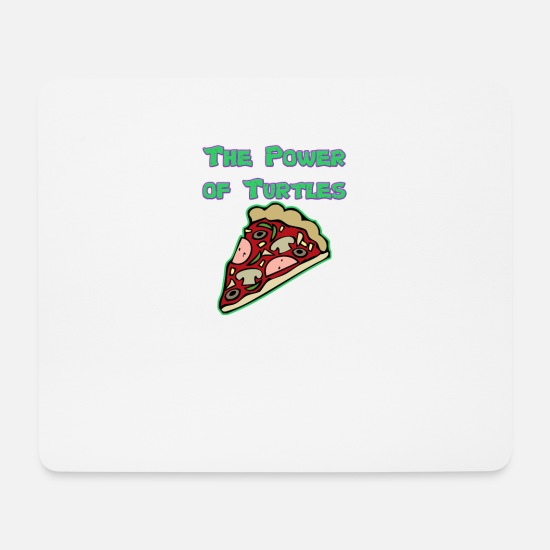 Turtles Mousepads  - Turtles - Mousepad Weiß