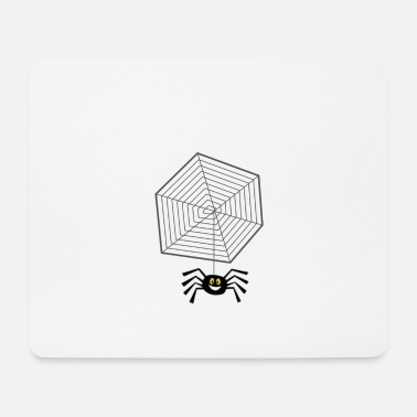 Net Net with spider - Mouse Pad