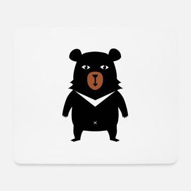 Grizzly Ours grizzly - Tapis de souris