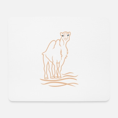 Stylized Animal stylized camel - Mouse Pad