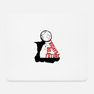 Goodbye Earth Fridays For Future | save the world - Mouse Pad