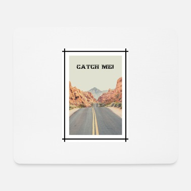 Road in California - Catch me! - Tappetino mouse