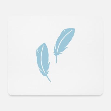 Feather feathers - Mouse Pad