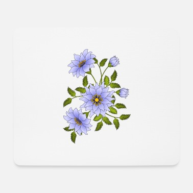 Flora flowers - Mouse Pad