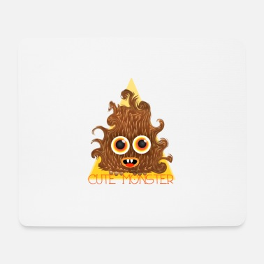 cute monster - Mouse Pad