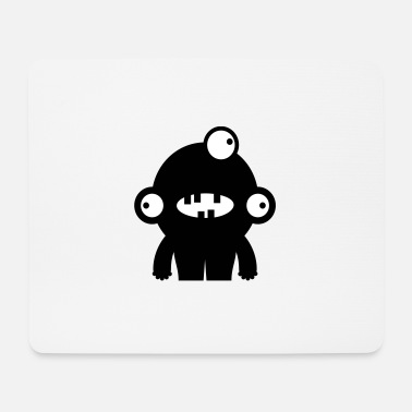 Collections Dreigucker - Space Monster Collection - Mousepad (Querformat)