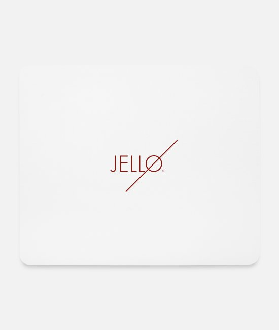 Brand Mouse Pads - Jellø - Mouse Pad white