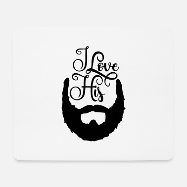 Bearded His Beard Beard Beard - Mouse Pad