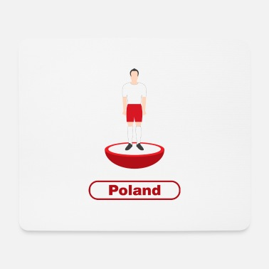Republic Of Poland Poland Football - Mouse Pad