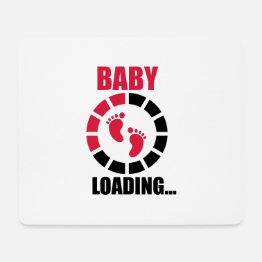 Funny Pregnancy Baby laading, Funny pregnancy,pregnant - Mouse Pad