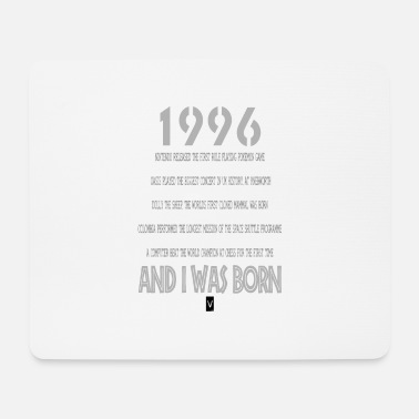 Birthday 1996 21st birthday - Mouse Pad