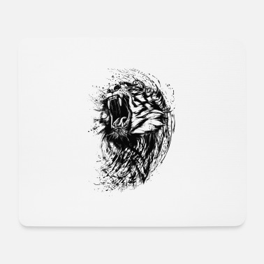 Paint Tiger - Paint - Mousepad