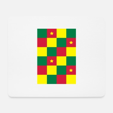 Check Cameroon Cameroun Cameroon - Mouse Pad