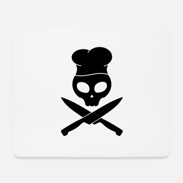 Smutje kitchen skull pirate, smutje - Mouse Pad