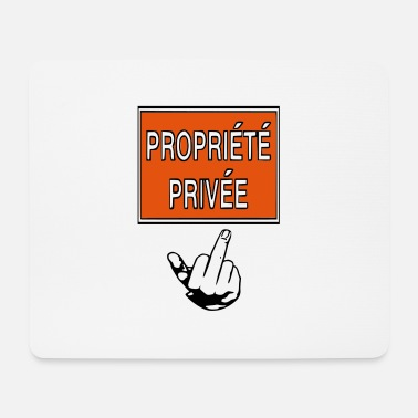 Privateer private property - Mouse Pad