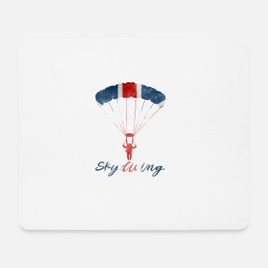 Uk Skydiving #UK - Mousepad