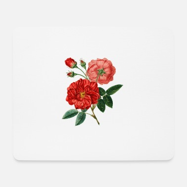 Rose Edle Rote Rosen Geschenk Idee - Mousepad