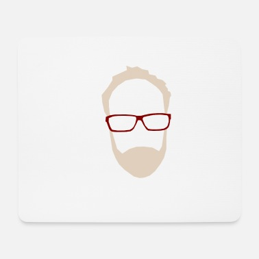 Hipster hipster - Mousepad