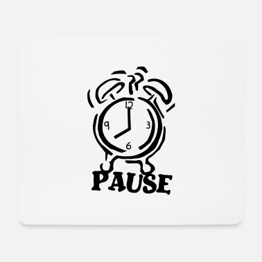 Pause pause - Mousepad