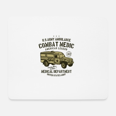 Us US Army Ambulance2 - Mousepad (Querformat)