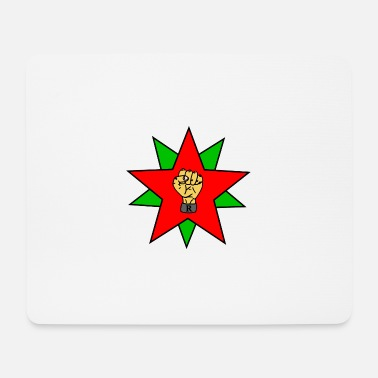 Green Revolution Fist of the revolution - Mouse Pad