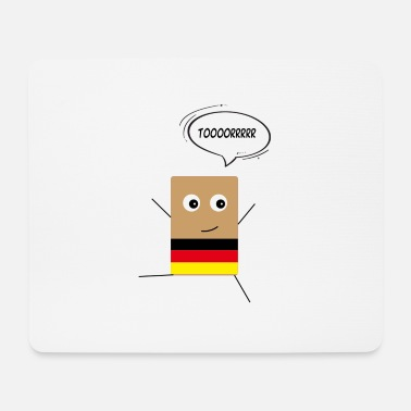 Schland Mr. Tosti Germany - Mouse Pad