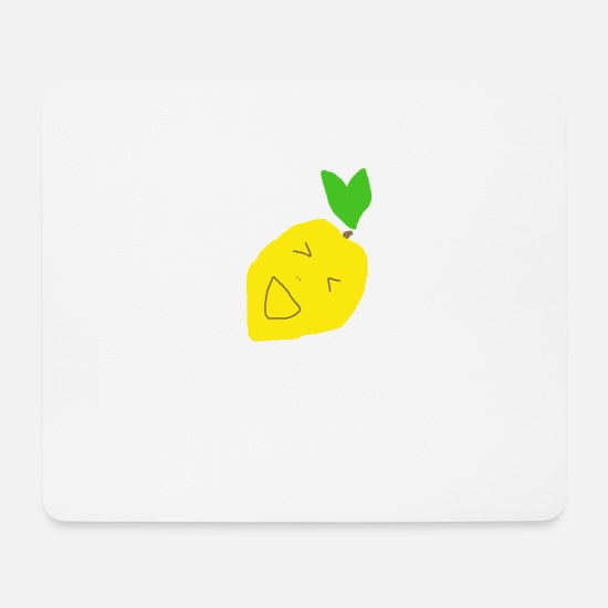 Gift Idea Mouse Pads - Lemon - Sour - Yellow - Gift idea - Mouse Pad white