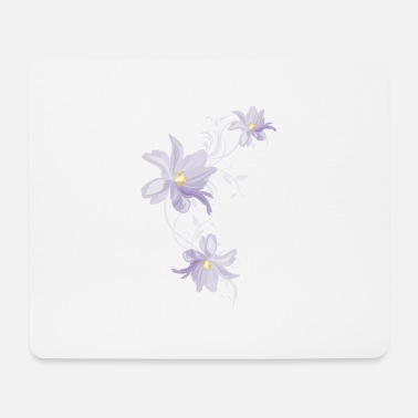 Lilac Lilac tulips - Mouse Pad