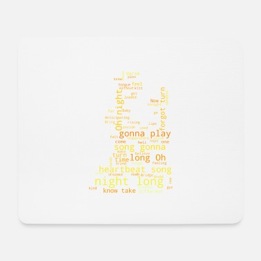 Song Heartbeat song - Mouse Pad