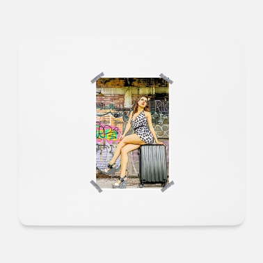 Vintage Pinup Pinup - Mouse Pad