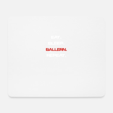 Ball eat sleep repeat BALLERN - Mousepad (Querformat)