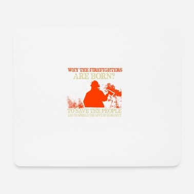 Firebrigade Firefighters firebrigade fire defense defender new ho - Mouse Pad