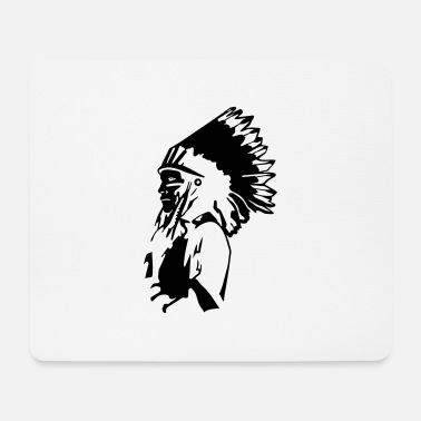 Redskins Indian Chief - Mouse Pad
