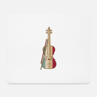 Fiddlestick Violin Player - Mouse Pad