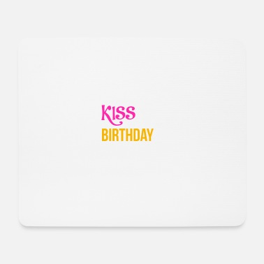 Bday BDAY | KISS ME - Tappetino per mouse (orizzontale)